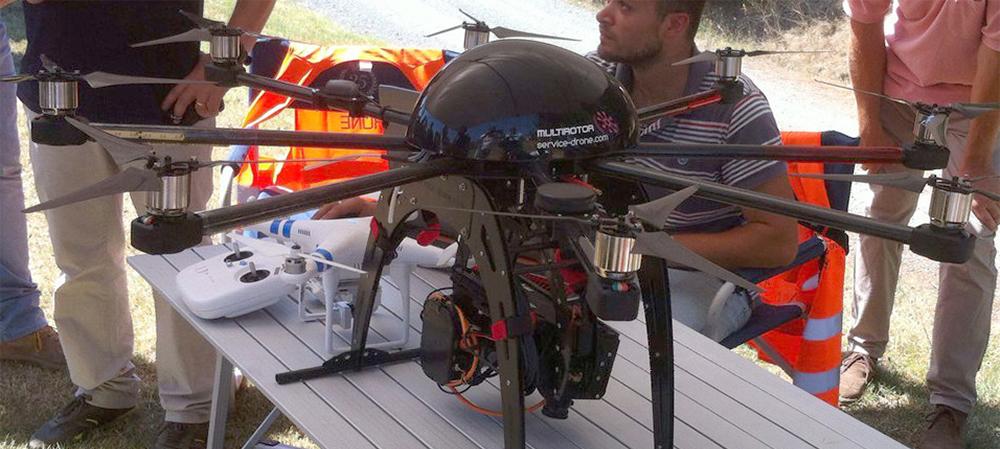 Il quadricottero Phenodrone