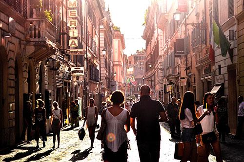 Un vicolo di Napoli