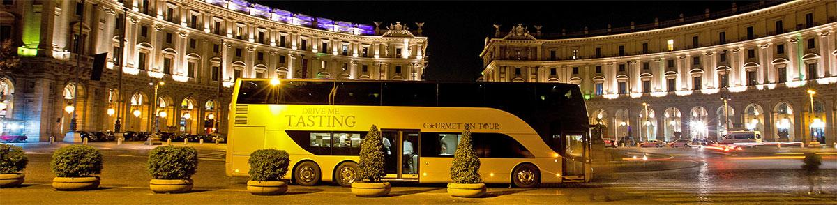 L'autobus bipiano di Drive Me tasting