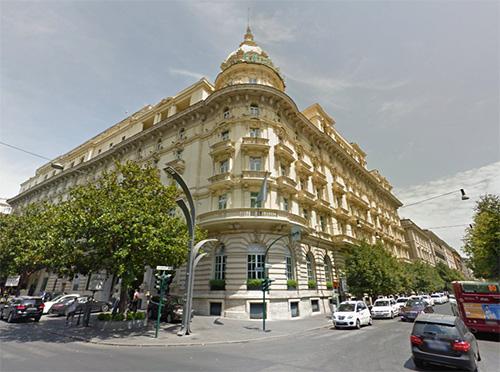 L'hotel Excelsior di Roma